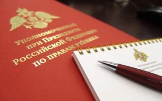 ОТКРЫТОЕ ПИСЬМО Уполномоченных по правам ребенка в субъектах РФ Президенту России
