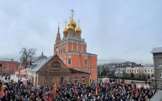 По всей стране прошли Молитвенные стояния за сохранение российских семей