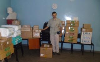 Помощь в Донбасс пришла